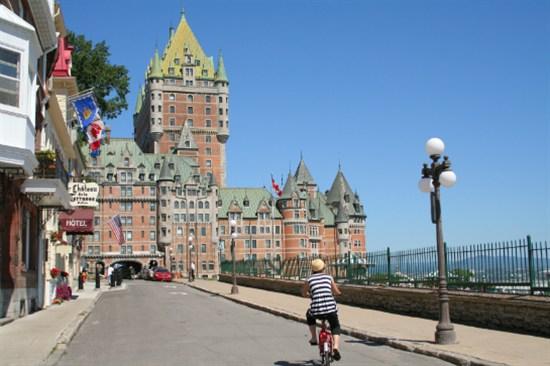 Canada Montreal Chateau Frontenac 加拿大 魁北克古堡酒店