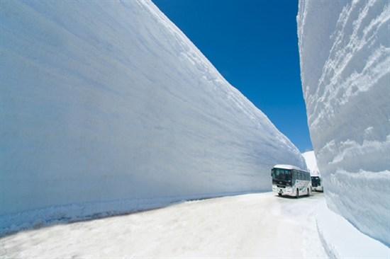 立山黑部雪の大谷