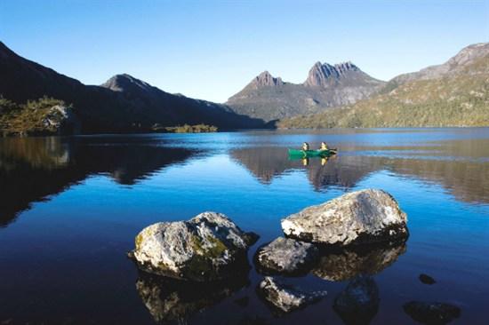 搖籃山 - 鴿湖Dove Lake