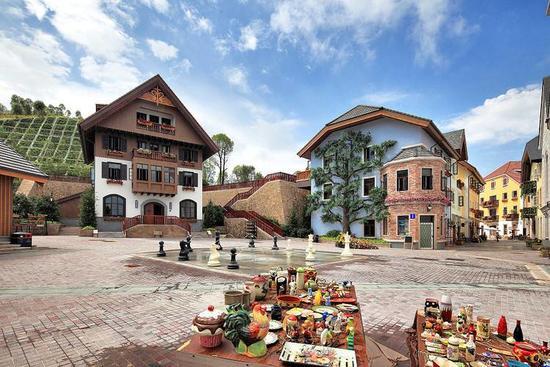奧地利風情小鎮