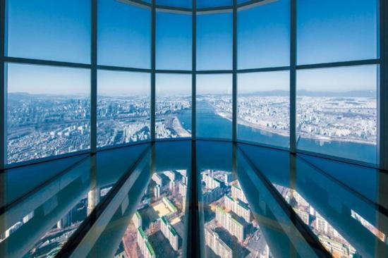 「全球第3高瞭望台」Seoul Sky