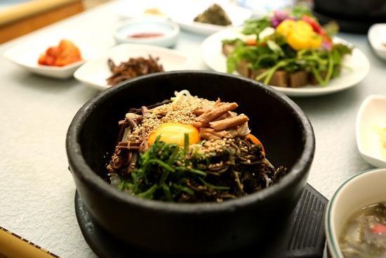 養生韓式拌飯