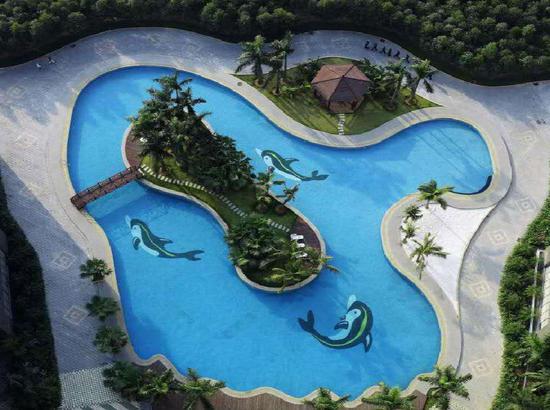 悅萊花園酒店泳池