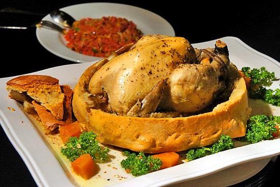秘製麵包雞片皮鴨宴