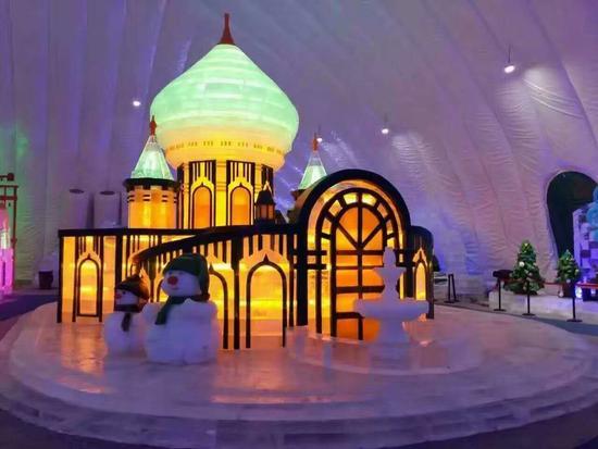 冰雪大世界室內主題樂園