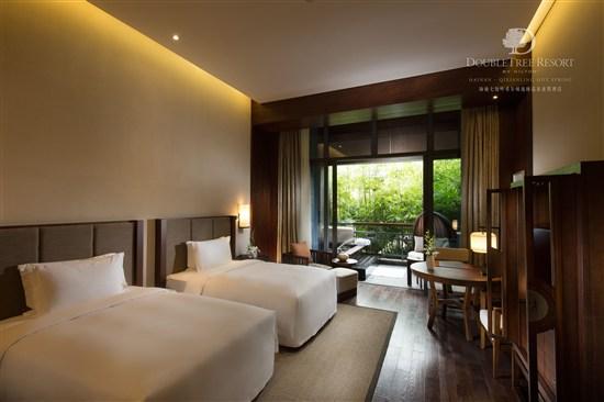 希爾頓逸林溫泉度假酒店-雙床房