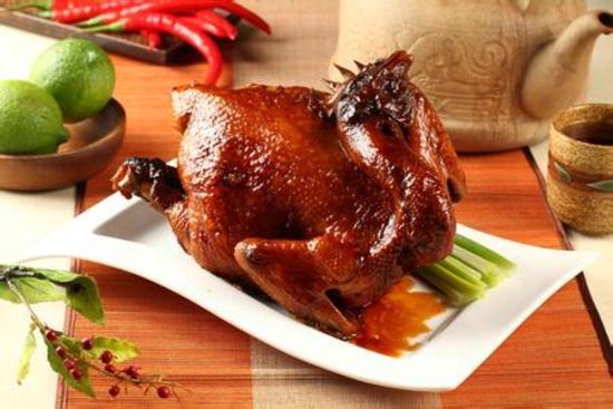 秘製豉油雞