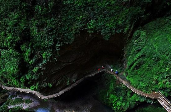 龍水峽地縫