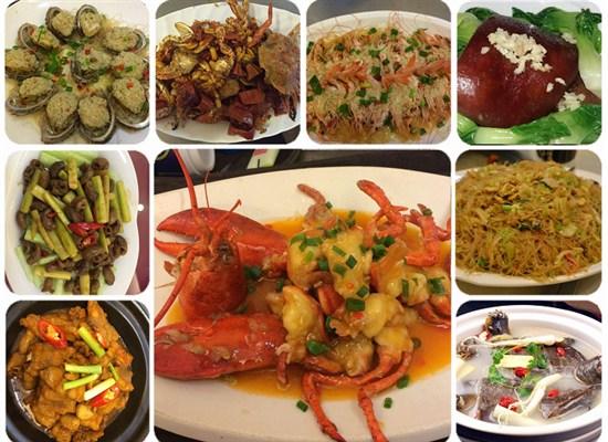 龍蝦鮑魚宴