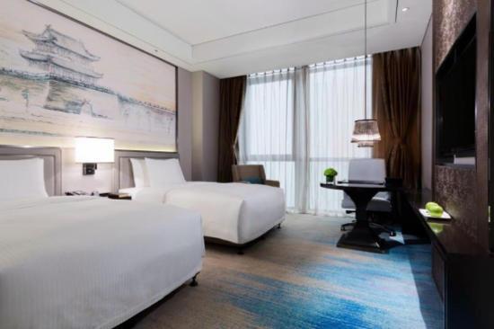 荊州萬達嘉華酒店客房