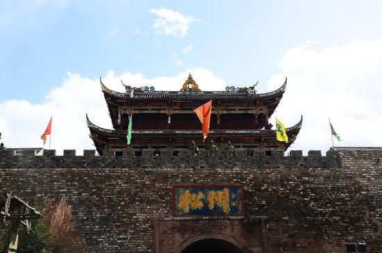 松潘古城(外觀)