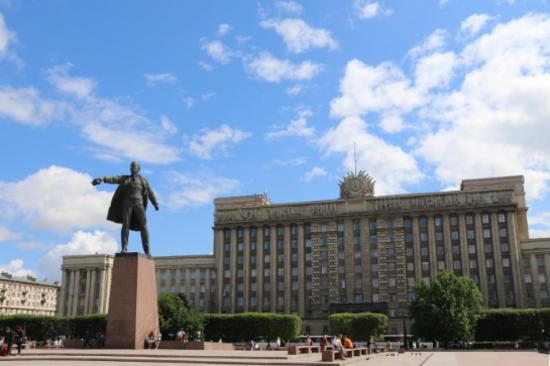 俄羅斯~列寧廣場